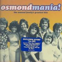 THE OSMONDS - OSMONDMANIA! OSMOND FAMILY GREATEST HITS NEW CD