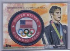 Conor Dwyer 2012 Topps U.S. Olympic Team & Hopefuls Team Patch #ULP-CD Swimming