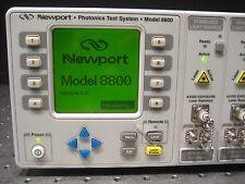 Newport Model 8800 Photonics Test System w/ 8 Modules, 980 Pump, 1552.53 WDM