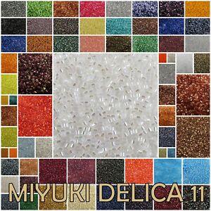 Delica 11/0 Miyuki Seed Beads #10-169 7.2 gram