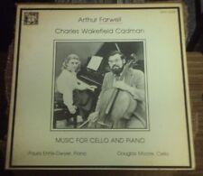 PAULA ENNIS-DWYER & DOUGLAS MOORE Farwell/Cadman: Music For Cello & Piano LP OOP