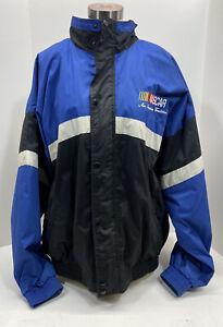 NASCAR Kurt Busch #97 Signed Jacket NASCAR Size XL Vintage