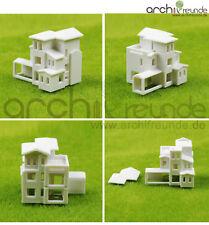 1 x Modell Gebäude Villa Wohnung Haus 1:800 Typ B