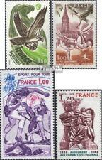 Frankreich 2122,2124,2125,2126 (kompl.Ausg.) postfrisch 1978 Naturschutz, Sport,