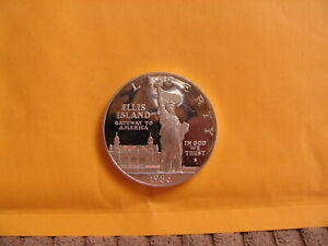 3x PROOF SILVER Dollars  86s Statue Liberty, 87 Constitution, 88s Olympics