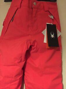 Spyder Girls Ski Trousers Pants Size 10 New!