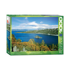 Eurographics 1000Piece jigsaw Puzzle Emerald Bay Lake Tahoe