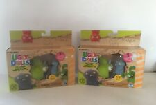 HASBRO UGLY DOLLS SQUISH & GO SHARWHAL SQUISHY TOYS-2 NEW BOXED SETS