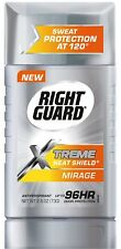 NEW Right Guard Xtreme Heat Shield Invisible Solid Antiperspirant Mirage 2.60 Oz