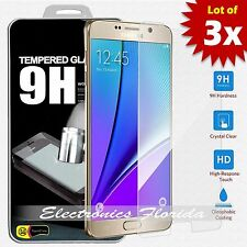 [3X Package] for Samsung Galaxy Note 5 Real Tempered Glass Screen Protector A+