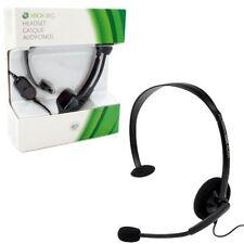 Casques noirs Microsoft pour jeu vidéo et console