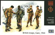 Master Box 1/35 tropas británicas, Caen, 1944 # 3512