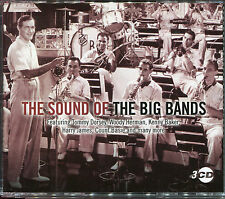 THE SOUND OF THE BIG BANDS - 3 CD BOX SET - TOMMY DORSEY, WOODY HERMAN & MORE