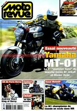 MOTO REVUE 3640 YAMAHA MT-01 YZR M1 HARLEY DAVIDSON VRSCA 1130 V-ROD SUZUKI DL