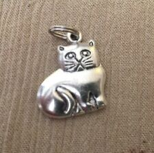WITH LOOP BALE ADORABLE  KITTY GRUMPY CAT SILVER CHARM BRACELET NECKLACE HELLO