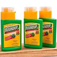 Roundup LB Plus Unkrautfrei 3x 250 ml Unkrautvernichter Glyphosat Privatanwender
