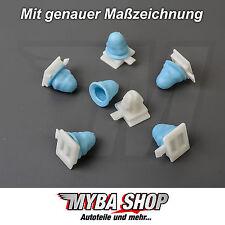 15x Clip de moulage avec douilles pour VW PASSAT & FIAT ULYSSE 3a0853575a # NEUF
