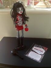 Monster High Doll Purrsephone With Accessories Brush Diary & Stand