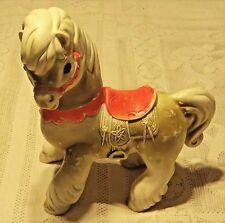 VINTAGE 1961 EDWARD MOBLEY CO. TOY RUBBER HORSE - ARROW RUBBER & PLASTIC CO.