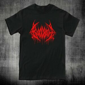 New BLOODBATH Death Metal Rock Band Logo Men's T-shirt Tee Size S-2XL