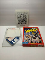 RAMPAGE Vintage Computer Game Activision IBM PC RARE