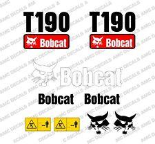 BOBCAT T190 Minipala Set Decalcomania Adesivi