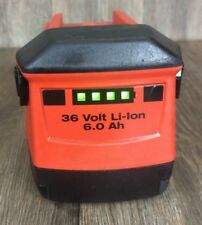 HILTI 36V 6.0 Ah Li-ion Capacity Rechargeable Lithium Battery Volt TE 30 A36 CPC