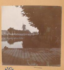 DELFT c. 1900 - Pont  Moulin à Vent  Pays Bas - FD Hol 141
