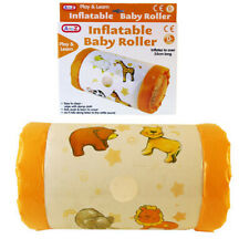 Inflatable Roller Baby Toy with Rattling Sounds Animals Design 35cm NEW