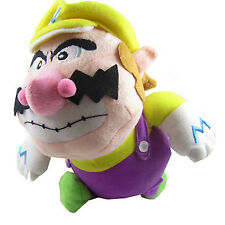"Christmas Xmas Super Mario Brothers 8"" Wario Plush Doll Figure Stuffed Toy"