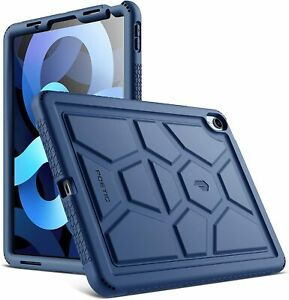 """Poetic For iPad Air 4 10.9"""" Tablet Case,Soft Silicone Protective Cover Navy Blue"""