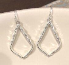 New!! Designer INSPIRED   Silver Earrings