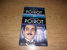 Agatha Christies Poirot: Series 1 (Blu-ray Disc 2-Disc Set) VERY RARE OOP!!