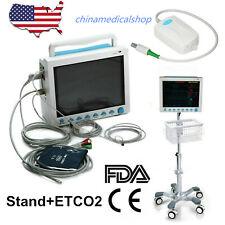 CE&FDA CAPNOGRAPH signos vitales de la unidad de cuidados intensivos pacientes Monitor Multi parámetro, ETCO 2+ Stand