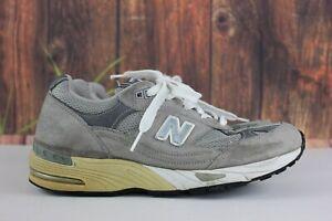Vtg New Balance 991Women's Gray Suede W991GR Running Shoes SZ US 8.5 B USA