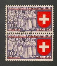 Switzerland #250 VF USED  1939 10c Deputation of Trades and Professions (German)