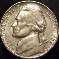 1968-S Jefferson Nickel Gem BU Almost Full Steps Uncirculated