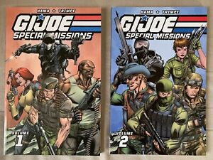 G.I. Joe Special Missions Vol. 1-2 TPBs Lot In New Condition- 2 Books Total