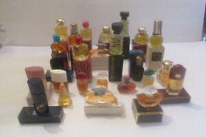 Lot of 25 Vintage Avon Mini Cologne Bottles All Full