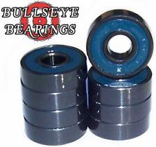 Set of 8 Bullseye Abec 7 Skateboard Bearings Free Ship