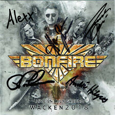 Bonfire - Live On Holy Ground Wacken 2018 (CD, new & handsigned)