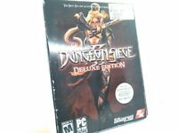 Dungeon Siege II: Deluxe Edition (PC, 2006) - Map and CD keys inside