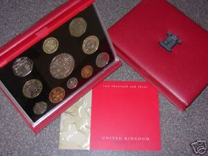 2003 DELUXE ROYAL MINT PROOF SET 11 COIN COLLECTION UNC