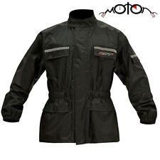 NEW RST Waterproof WP Rainproof Motorcycle Motorbike Over Rain Jacket |All Sizes