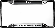 JEEP GRAND CHEROKEE Zinc License Plate Frame Tag Holder