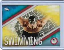 2016 TOPPS OLYMPIC DISCIPLINES MICHAEL PHELPS CARD #OD-21 ~ US SWIMMING LEGEND