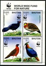 BHUTAN - 2003 'PHEASANTS & TRAPONPANS' Souvenir Sheet MNH [B0713]