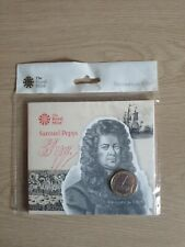 2019 Royal Mint Samuel Pepys £2 Two Pound Coin Pack Sealed Uncirculated