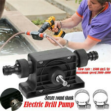 Hand Electric Drill Drive Self Priming Water Transfer Pump No Power Required