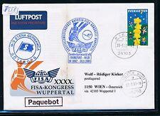 72583) LH FISA So-LP Frankfurt - Wien 29.5.2001, SoU Schweden SP via Kiel